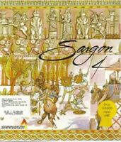 SARGON 4 Chess Game PC/DOS 5.25 Disks 1989 CIB Big Box Complete Rare
