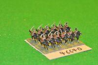 15mm 19th century / russian - crimean war dragoons 12 figs - cav (46640)