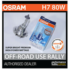 ! nuevo! 62261SBP Osram H7 80W Super brillante Bombilla PREMIUM Off-Road Rally (x1)