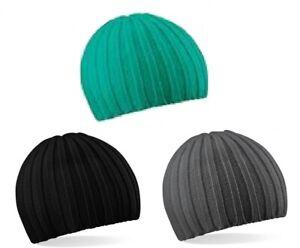Beechfield Chunky Knit Beanie, Unisex Mütze, One Size, Winter-Strickmütze
