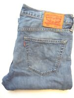 LEVI'S 527 JEANS MEN'S LOW BOOT CUT W34 L33 MID BLUE STRAUSS LEVJ720  #