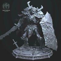 Undead Knight Death 32mm Fantasy Miniature RPG Warhammer D&D Pathfinder AoS