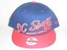 DC Shoes New Era 9Fifty SCRIPTO Snapback Hat Red Blue OSFA ($30) Skate BMX Moto