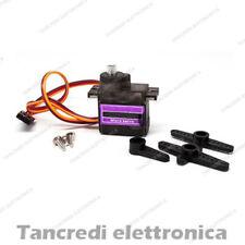 Servo MG90S Micro Mini ingranaggi in metallo metal gear RC modellismo