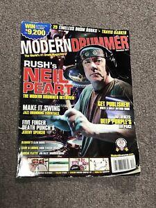 Neil Peart Modern Drummer Magazine Cover December 2011