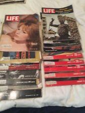 Life Magazines 1961 Lot Of 15