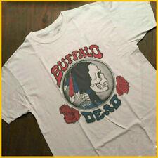 VTG Grateful Dead 1990 Buffalo T-Shirt Tee Cotton Reprint Unisex S-4XL DB1039