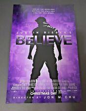 Justin Bieber Believe (2013) Original Movie Concert Poster New *Not A Reprint*