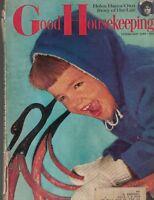 Good Housekeeping Magazine February 1957 Helen Hayes Margery Sharp