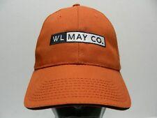 WL MAY CO. - GE APPLIANCES - BURNT ORANGE - ADJUSTABLE STRAPBACK BALL CAP HAT!