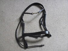 Jeffries Traditional Hunter Snaffle Bridle + Snaffle Browband brown full size