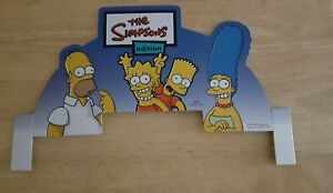 The Simpsons Edition Jeopardy Game 2003 Replacement Part Cardboard Part Of Top