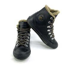 Converse CT Winter Boot Hi Leather Black/Olive Junior US 4/ EUR 36 632530C