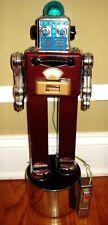 Papa San prototype Batt op All tin R/C Robot very unique 1 of a kind Robot & Box