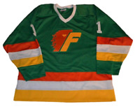 Any Name Number Size Philadelphia Firebirds Retro Custom Hockey Jersey Green
