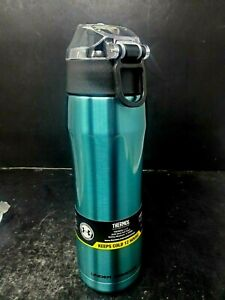 Under Armour Beyond Metallic Blue Stainless Steel Water Bottle 18 Ounce