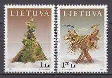 LITHUANIA 2001 **MNH SC# 707 - 708  Christmas stamps
