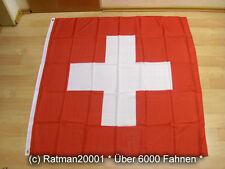 Fahnen Flagge Schweiz - 120 x 120 cm