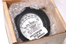 Jewell Modutec 0-3500 PSI gage for O2 EMI Magnetic Shielded Zero Adj. Jewel Mov'