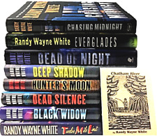 Randy Wayne White Book Lot Hardcover Doc Ford 8 1st Edition Signed Mystery First