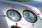 Bentley Continental GT/GTC 2004-2011 Headlight Bezzel Pack