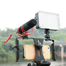 Video Camera Cage Stabilizer Film Making Rig Mount for Cell Phone iPhone Samsung