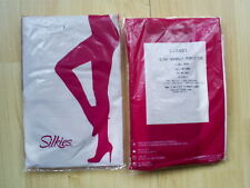 Silkies Ultra Soft Dimensions Tights Extra-Tall Control Top Panty Nude Black
