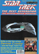 Star Trek: The Next Generation Poster Magazine #29, UK Release 1992 NEW UNREAD