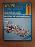 CLASSIC  HAYNES WORKSHOP MANUAL ROVER 2000 2300 & 2600 1977 TO 1987 ALL MODELS