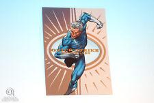 2013 Fleer Marvel Retro Quicksilver Quick Strike Card #21 Skybox Z-Force 1:40
