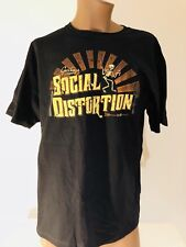 Greetings From SOCIAL DISTORTION XL TShirt New NWOT Mike Ness Skelly EST 1979