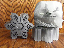 LAMBSKIN SKI & SNOWBOARD GRAPHITE WAX 3 OZ. / 85g