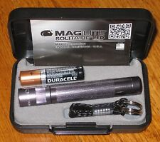 Maglite AAA Solitaire LED Pewter maglight LED mag-lite mag-light LED!!