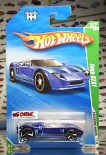 Hot Wheels 2010 T-HUNT REG #059 FORD GTX1 BLUE,OH5SP,INTL