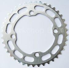 Porkchop BMX single speed bicycle Chop Saw I Chainring 40T 4 bolt 104 bcd SILVER