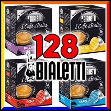 128 Capsule caffè BIALETTI A SCELTA cialde alluminio espresso Mokona Mokissima
