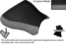 BLACK & GREY CUSTOM FITS SUZUKI GSXR 600 750 SRAD 96-00 FRONT SEAT COVER