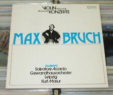 Max Bruch - LP (VG+) Violinkonzerte 1 & 2 - Accardo, GHO Leipzig Masur / ETERNA