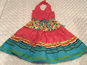 Blueberri Boulevard Girls Dress Size 8 In EUC (BIN AA)
