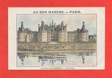 A Bon Mercado - París - Castillo Chambord - Fachada Norte (K689)
