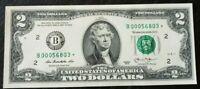 USA Billet de 2 dollars STARNOTE, début de série 000 (idéal collection) - Neuf
