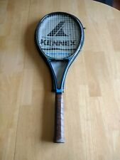 pro kennex silver ace tennis racquet blue and silver with case