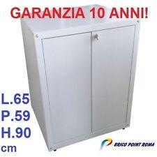 MOBILE BOX ARMADIO COPRI LAVATRICE LAMIERA ZINCATA ESTERNO CARICA FRONTALE
