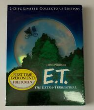 E.T. The Extra-Terrestrial DD 2-Disc Collector's Limited Edition SEALED NEW