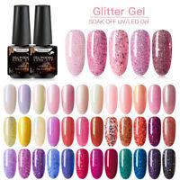 RBAN NAIL 7ml Shimmer Glitter UV Gel Nail Polish Manicure Gel Nails Varnish  DIY