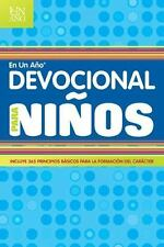 Devocional en un Ano Para Ninos = Devotional in a Year for Children (Paperback o