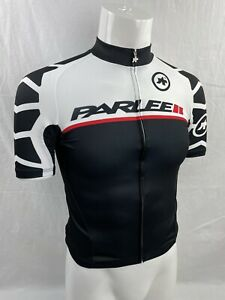 ASSOS for PARLEE Custom Black & White Short Sleeve Cycling Jersey SM