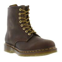 Dr Martens 1460 Mens Womens Classic Brown Leather Ankle Boots Size 4-13