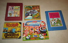 LOT BIG BOOKS CHILDRENS LIBRARY READING BOOKS NURSERY RHYMES ANIMALS NATURE TALE
