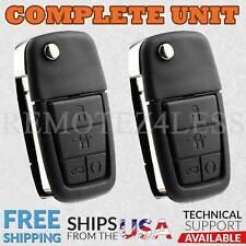 2 Keyless Entry Remote 2008 2009 Pontiac G8 Car Flip Key Fob Control